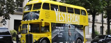STREET MARKETING - SORTIE DU FILM YESTERDAY PRODUIT PAR UNIVERSAL